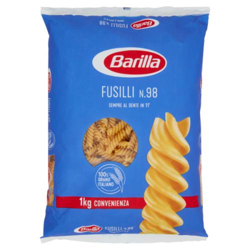 Макароны Barilla Fusilli n 98 из твердых сортов пшеницы 1кг